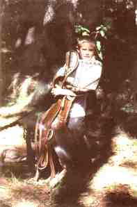 Boy with Saddle